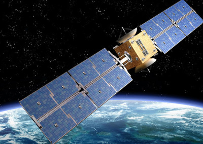Telemetries, telecommands and thermal management for telecommunications satellite